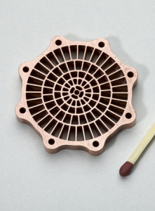 copper gear part
